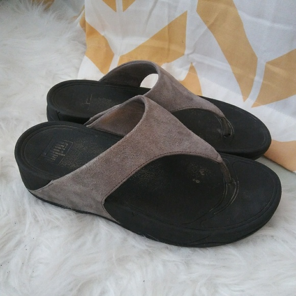6e7b23d49fed Fitflop Shoes - FitFlop size 8 silver black athletic sandals